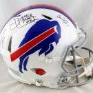 Kelly Reed & Thomas Autographed Signed Buffalo Bills Speed Proline Helmet BECKETT