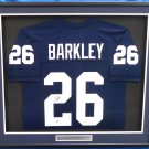 Saquon Barkley Autographed Signed Framed Penn State Nittany Lions Jersey BECKETT