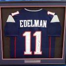 Julian Edelman Autographed Signed Framed New England Patriots Jersey BECKETT