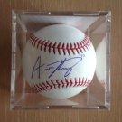 Austin Riley Atlanta Braves Autographed Signed Official Baseball PSA