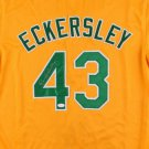 Dennis Eckersley Autographed Signed Oakland Athletics Jersey JSA
