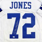 Ed Too Tall Jones Autographed Signed Dallas Cowboys Jersey JSA