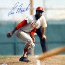 Lou Brock St Louis Cardinals Autographed Signed 16x20 Photo PSA
