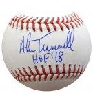 Alan Trammell Detroit Tigers Signed Autographed Official Baseball BECKETT