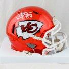 Travis Kelce Signed Autographed Kansas City Chiefs Mini Helmet BECKETT