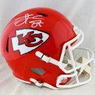 Travis Kelce Signed Autographed Kansas City Chiefs FS Helmet JSA