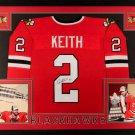 Duncan Keith Autographed Signed Framed Chicago Blackhawks Jersey JSA