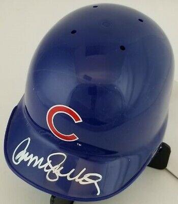 Ryne Sandberg Signed Autographed Chicago Cubs Mini Helmet JSA