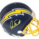 Dan Fouts Autographed Signed San Diego Chargers Mini Helmet BECKETT