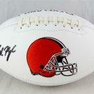 Baker Mayfield Autographed Cleveland Browns Logo Football BECKETT