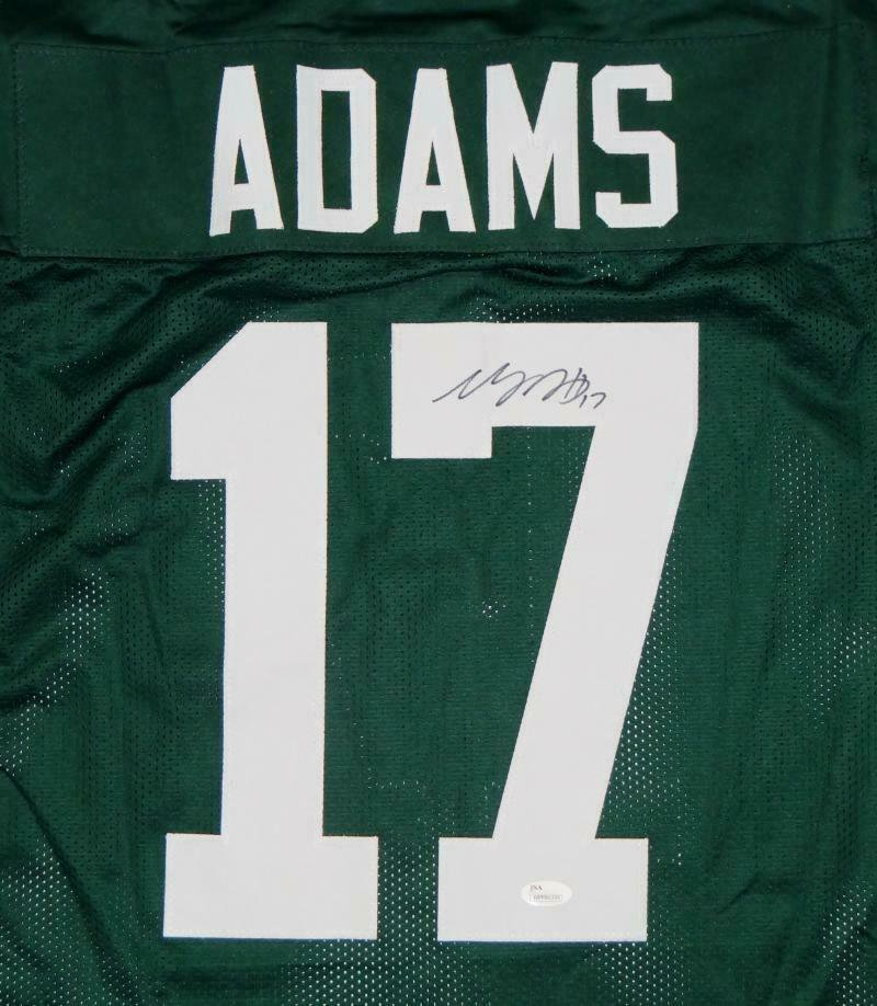 Davante Adams Signed Autographed Green Bay Packers Jersey JSA