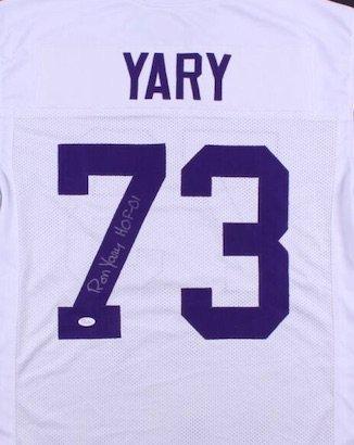 Ron Yary Autographed Signed Minnesota Vikings Jersey JSA