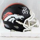Peyton Manning Autographed Signed Denver Broncos Mini Helmet FANATICS