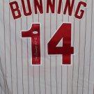 Jim Bunning Autographed Signed Philadelphia Phillies Majestic Jersey JSA