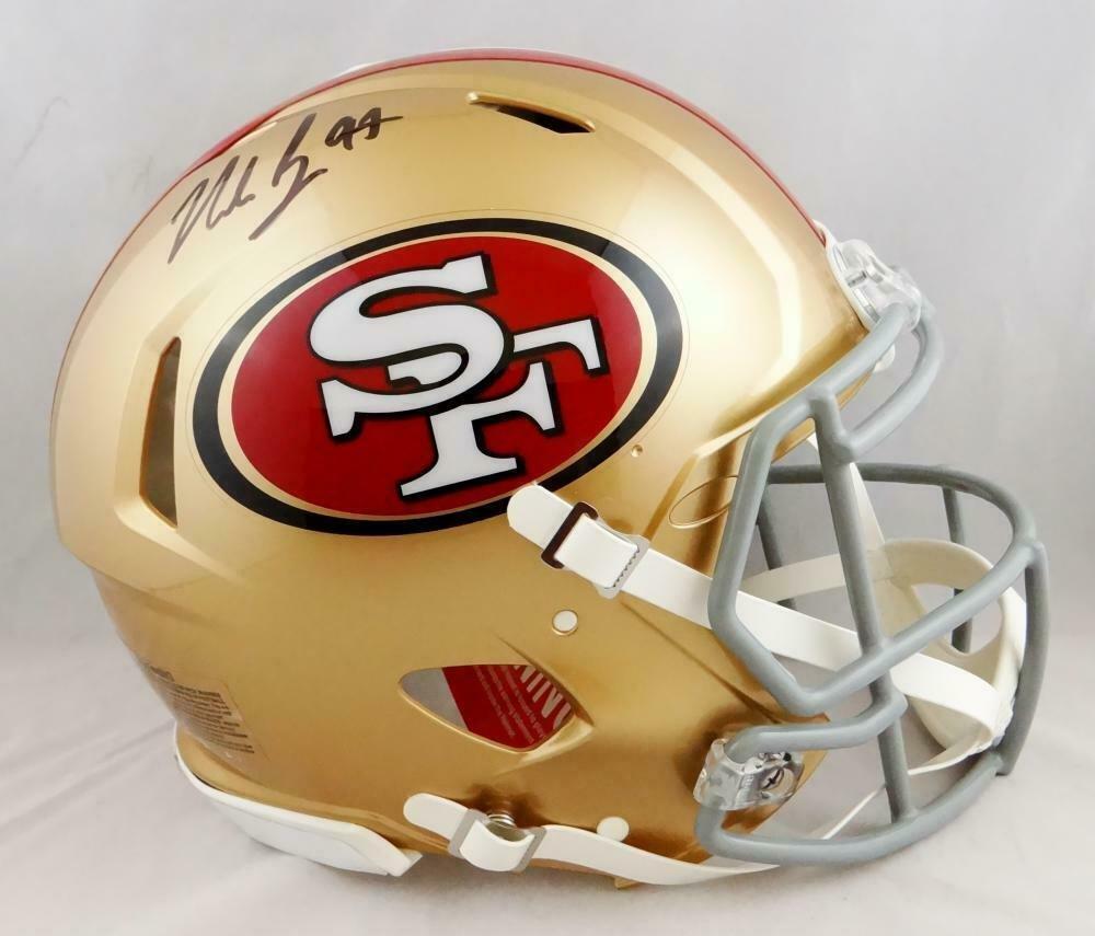 Nick Bosa Autographed Signed San Francisco 49ers Speed Proline Helmet BECKETT
