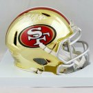 Nick Bosa Autographed Signed San Francisco 49ers Chrome Mini Helmet BECKETT