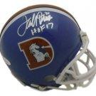 Terrell Davis Autographed Signed Denver Broncos FS TK Helmet JSA