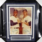 Mickey Mantle & Roger Maris New York Yankees Signed Autographed Framed 8x10 Photo PSA