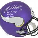 Jared Allen Autographed Signed Minnesota Vikings FS Helmet BECKETT