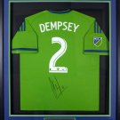 Clint Dempsey Autographed Signed Seattle Sounders Adidas Jersey PSA/DNA