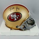 Frank Gore Autographed Signed San Francisco 49ers Mini Helmet BECKETT