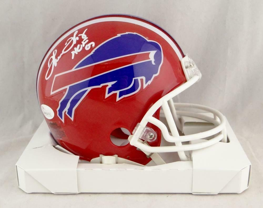 Thurman Thomas Autographed Signed Buffalo Bills Mini Helmet JSA