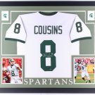 Kirk Cousins Autographed Signed Michigan State Spartans Framed Jersey COUSINS HOLO