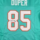 Mark Duper Autographed Signed Miami Dolphins Jersey JSA