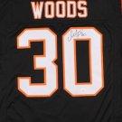 Ickey Woods Autographed Signed Cincinnati Bengals Jersey JSA