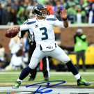 Russell Wilson Seahawks Autographed Signed 8x10 Photo RW COA