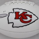 Tyreek Hill Signed Autographed Kansas City Chiefs Logo Football BECKETT