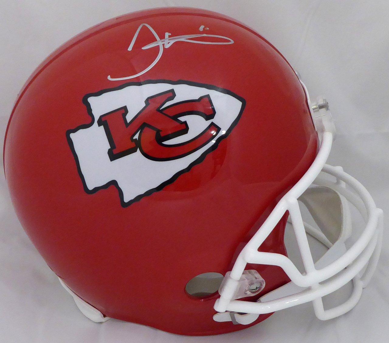 Tyreek Hill Signed Autographed Kansas City Chiefs FS Helmet BECKETT