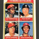 1974 Topps Brian Downing Rookie Card (Unsigned)