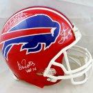Kelly Reed & Thomas Autographed Signed Buffalo Bills Proline Helmet JSA