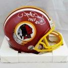 Mark Moseley Signed Autographed Washington Redskins Mini Helmet JSA