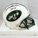 Curtis Martin Autographed Signed New York Jets Mini Helmet BECKETT