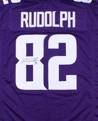 Kyle Rudolph Autographed Signed Minnesota Vikings Jersey TSE COA