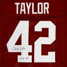 Charley Taylor Autographed Signed Washington Redskins Jersey JSA