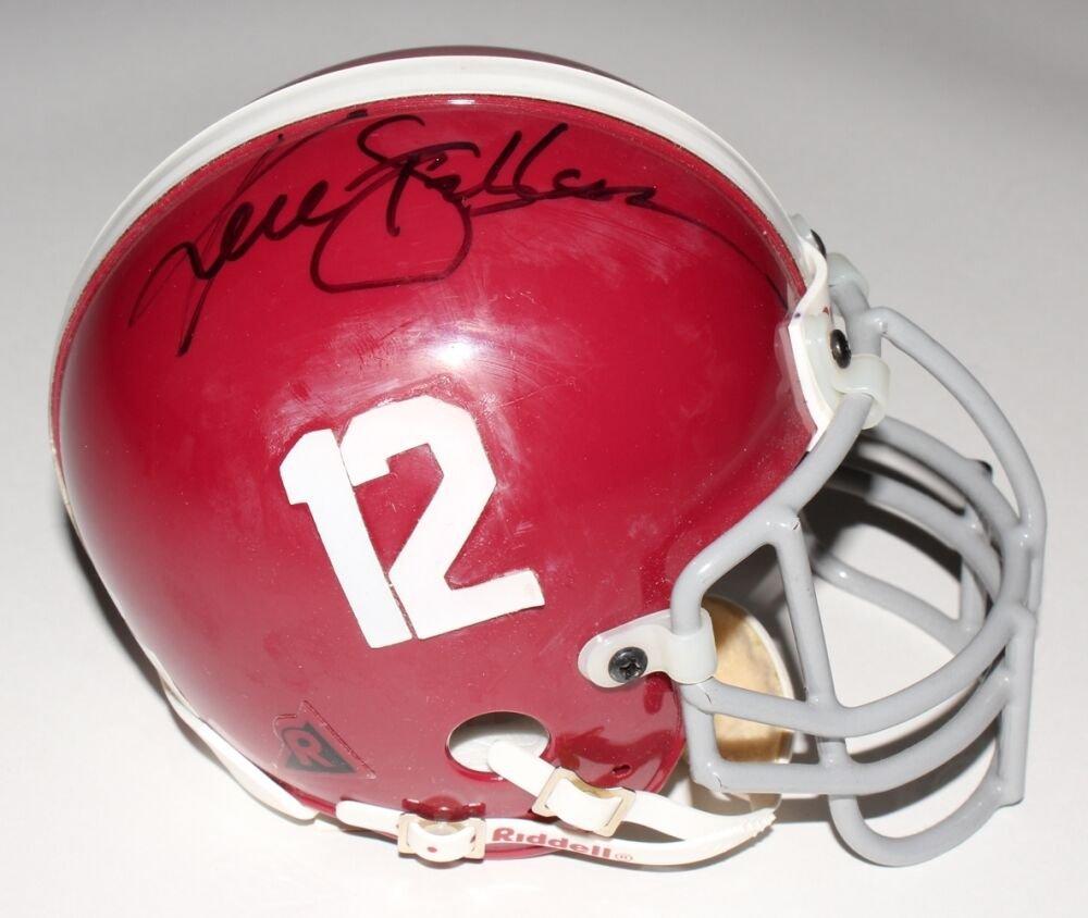 Ken Stabler Signed Autographed Alabama Crimson Tide Mini Helmet HC COA