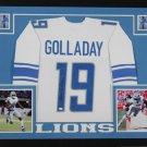 Kenny Golladay Autographed Signed Detroit Lions Framed Jersey JSA