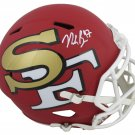 Nick Bosa Autographed Signed San Francisco 49ers FS Amp Helmet BECKETT