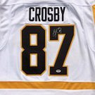 Sidney Crosby Autographed Signed Pittsburgh Penguins Fanatics Jersey PSA