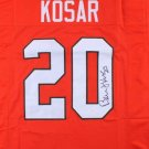 Bernie Kosar Signed Autographed Miami Hurricanes Jersey JSA