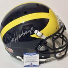 Jim Harbaugh Autographed Signed Michigan Wolverines FS Proline Helmet BECKETT