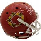 Herschel Walker Autographed Signed USFL New Jersey Generals FS Helmet BECKETT