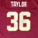 Sean Taylor Signed Autographed Washington Redskins Reebok Jersey BECKETT