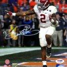 Derrick Henry Signed Autographed Alabama Crimson Tide 8x10 Photo PSA