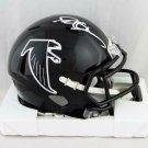 Deion Sanders Autographed Signed Atlanta Falcons Mini Helmet JSA