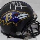 Mark Ingram Autographed Signed Baltimore Ravens Mini Helmet BECKETT