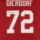 Dan Dierdorf Autographed Signed St. Louis Cardinals Jersey JSA